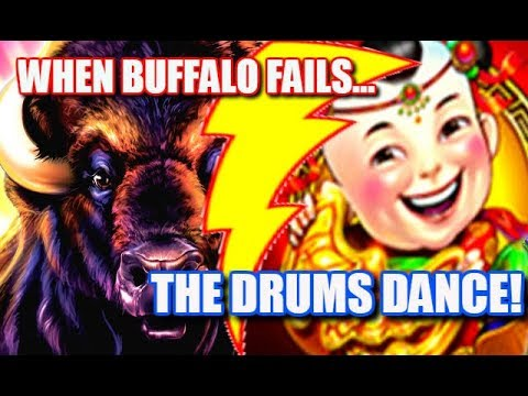 Big Wins ★ Buffalo Gold Fails Dancing Drums Delivers