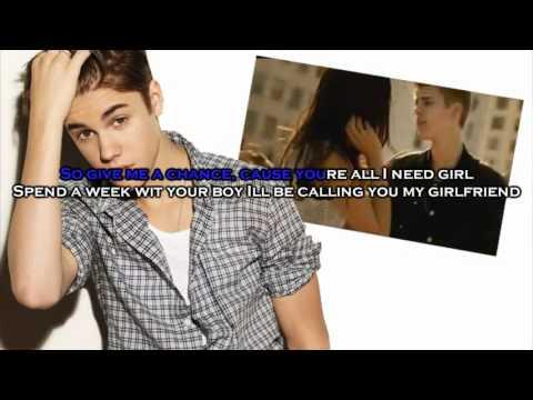 Karaoke Boyfriend Justin Bieber Instrumental