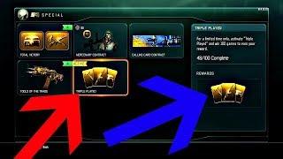 UNLOCKING TRIPLE PLAY LIVE | Black Ops 3 Multiplayer