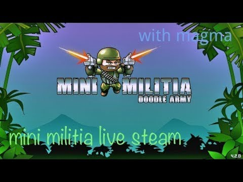 Watch Me Stream Mini Militia On Omlet Arcade!