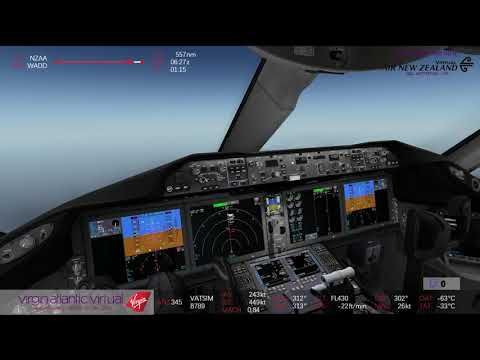 [FSX] 14/10/2017 ✈ QualityWings B789 ✈ ANZ345 Auckland - Bali [Arrival]