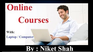 Online Course from computer / Laptop