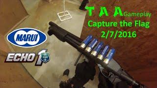 TAA Gameplay - Capture the Flag 2/7/2016 [TM M870 Breacher & Echo1 Timberwolf]