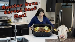 Roaster Oven Corned Beef and Cabbage Recipe! Episode 131