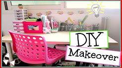 DIY Desk Makeover | Decor and organization!