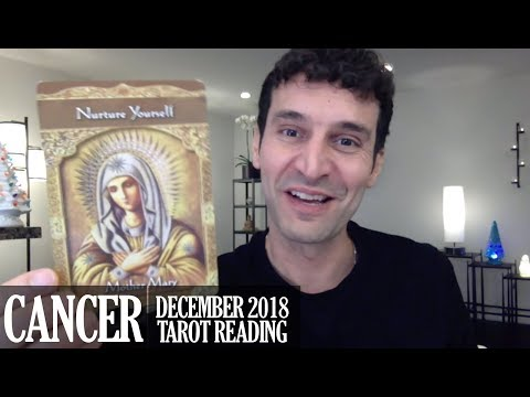 CANCER December 2018 - Extended Monthly Intuitive Tarot Reading by Nicholas Ashbaugh