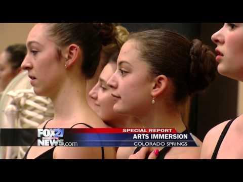 Colorado Springs program lets students combine academics and art