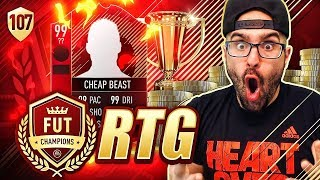 THIS CARD IS A GOAT *NEW CHEAP BEAST* FIFA 18 Ultimate Team Road To Fut Champions #107 RTG