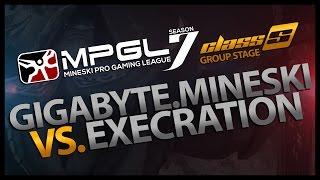 DOTA 2 : GIGABYTE.Mineski vs Execration - (MPGL 7 DOTA 2 Class S Leg 3) - Game 2