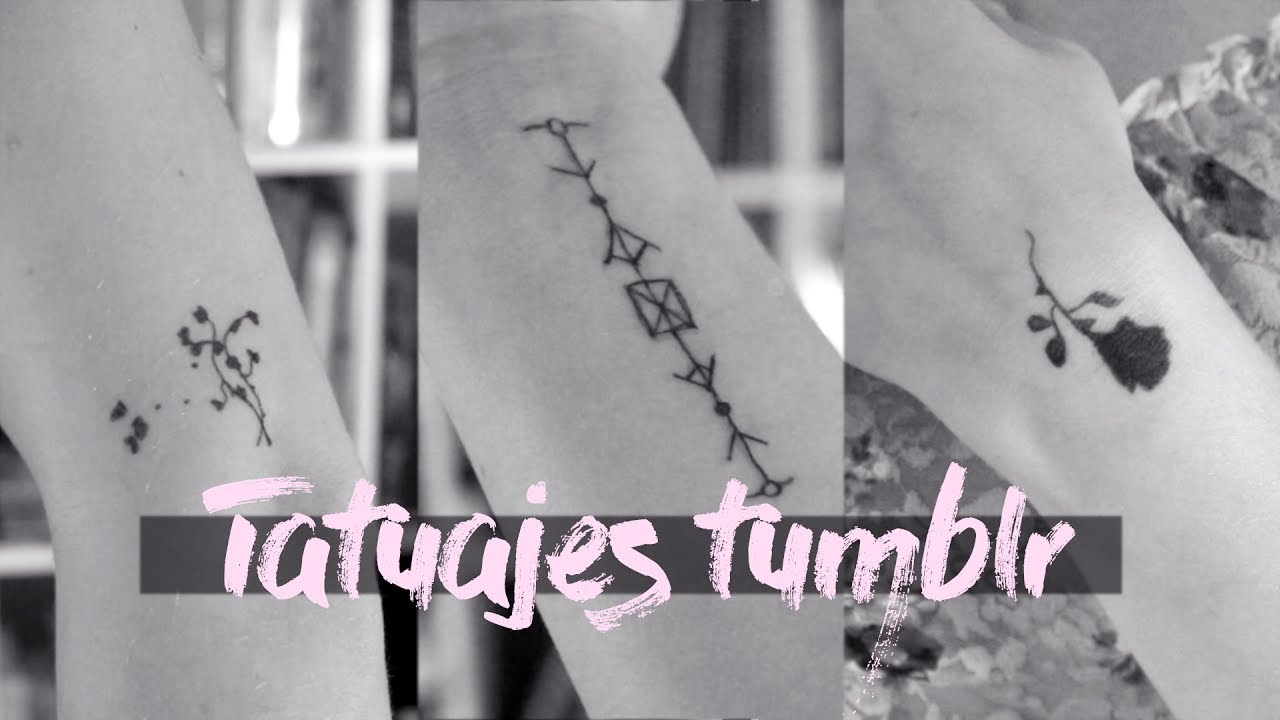 Tatuajes Tumblr Tiny Tattoos Ideas Youtube