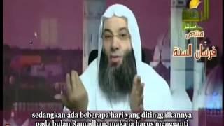 Hukum menggabungkan niat mengganti puasa Ramadhan dengan niat puasa Syawal ? 2017 Video