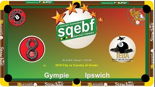 SQEBF City v Country | A Grade 8 Ball Teams -  Gympie v Ipswich