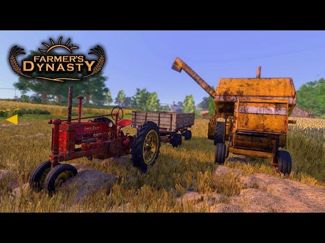 🔥  Żniwa Nowym Kombajnem 👨🏼🌾 Farmer's Dynasty 🚜