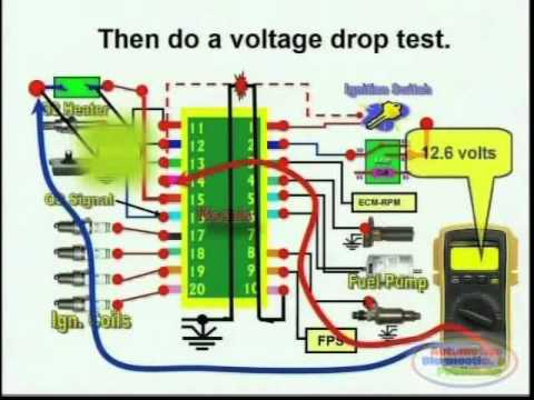 short circuit detection wiring diagram 2 youtube rh youtube com Electrical Wiring Simple Circuit Diagram
