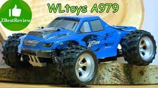 ✔ Wltoys A979 Розпакування радіокерованого монстра 1:18 Banggood