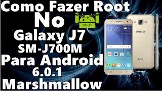 Como Fazer Root No galaxy J7 Modelo SM-J700M Com Android 6 0 1
