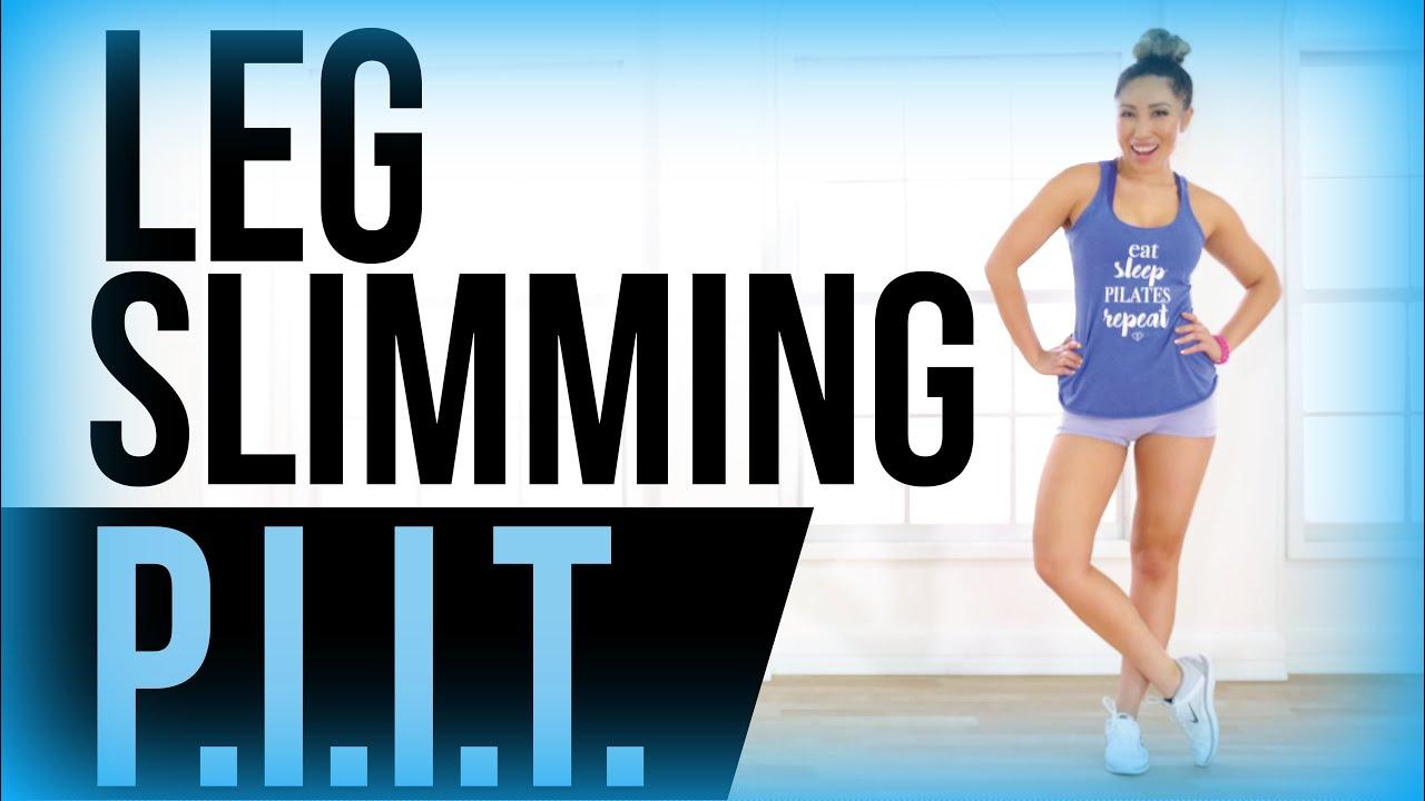 Leg Slimming Workout // PIIT - YouTube