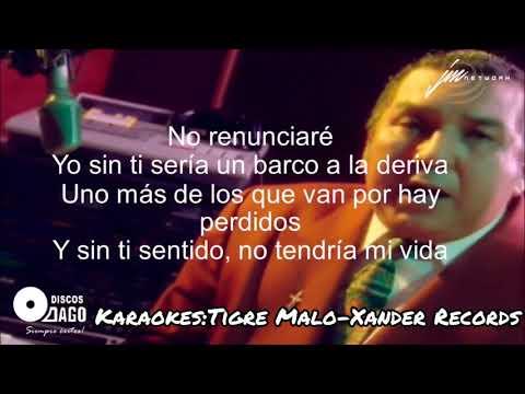Karaoke(Pista)No Renunciare-Alci Acosta