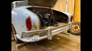 """FIRST START IN 45 YEARS """"Continued"""" 1967 VW Karmann Ghia, Wi..."""