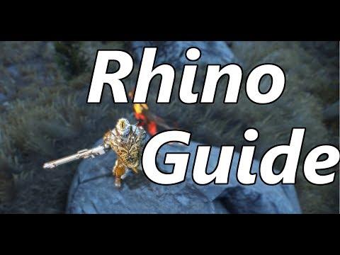 Warframe | Eidolon Hunter #9: Rhino Guide