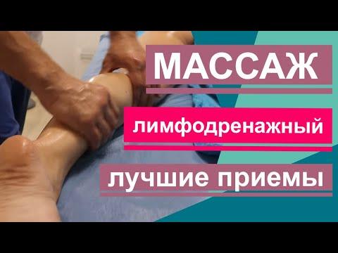 Лимфодренажный массаж ног в домашних условиях техника