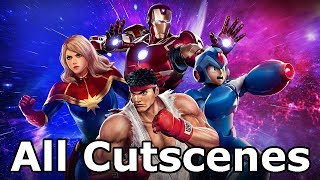 Marvel Vs Capcom Infinite - All Cutscenes (Game Movie) thumbnail