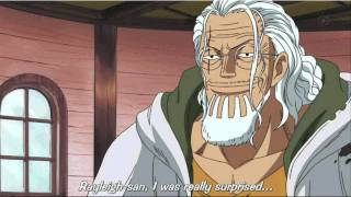 One Piece Rayleigh tells Luffy about Shanks thumbnail