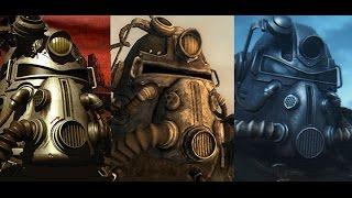 Обзор всех силовых доспехов во всех Fallout