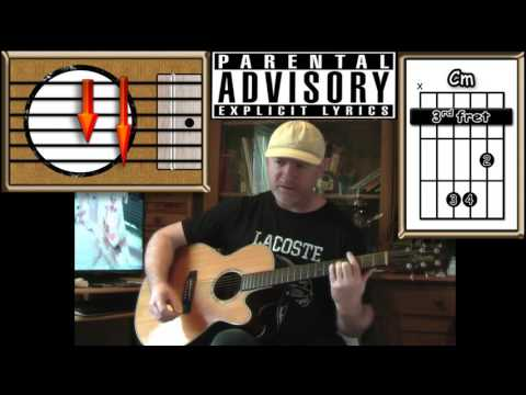 Creep - Radiohead - Acoustic Guitar Lesson (Explicit Lyrics)