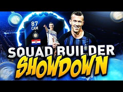 FIFA 17 SQUAD BUILDER SHOWDOWN vs AJ3 CRAZIEST CAM CARD EVER? SIF CAM PERISIC - ULTIMATE TEAM