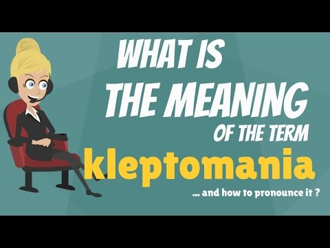 what-is-kleptomania?-what-does-kleptomania-mean?-kleptomania-meaning,-definition-&-explanation
