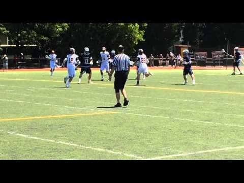 John Cordrey of Summit boys lacrosse scores in North, Group 2 final