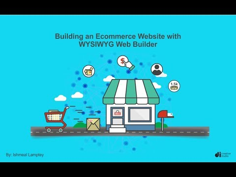 Buidling an eCommerce website with WYSIWYG Web Builder