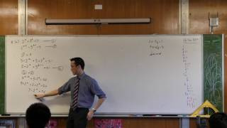 Simultaneous Exponential Equations
