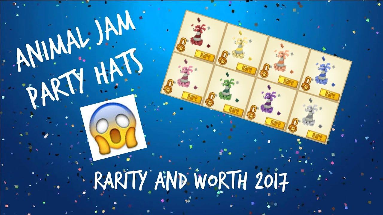 Spring Party Hat Animal Jam Worth Wwwmiifotoscom