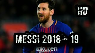 Download ♦ Messi 2018 - 19 ♦ Invisible ♦ Skills and Goals ♦ || HD || Mp3