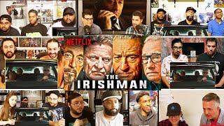 The Irishman | Official Teaser REACTIONS MASHUP