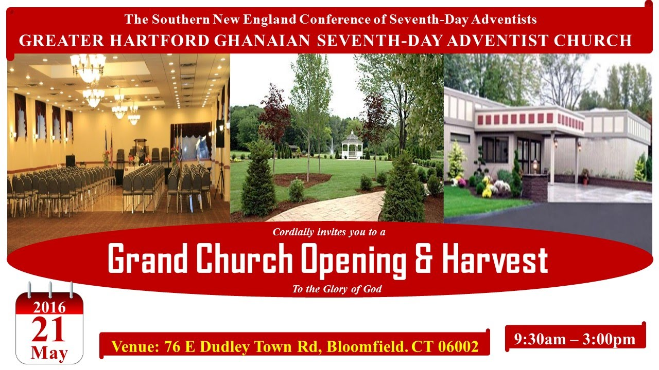 Fundraiser for Greater Hartford Ghanaian SDA Church by
