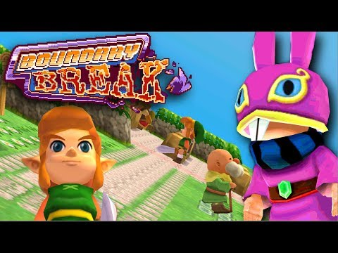 Zelda: A Link Between Worlds From a Brand New Angle - Boundary Break