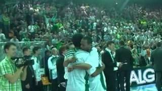 Zalgirio triumfo akimirkos FOTO, VIDEO   Krepsinis net