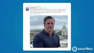 President Trump Retweets Judicial Watch President Tom Fitton!