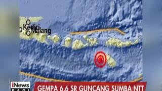 Gempa 6,6 SR Guncang Sumba NTT - INews Pagi 30/12
