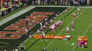 Clemson 2017 CFP National Championship Game winning play