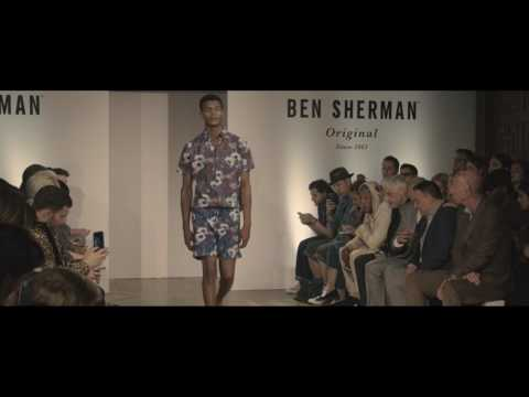 Ben Sherman Presents SS18 Collection, Peacock Revolution