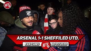 Arsenal 1-1 Sheffield Utd. | We Need More Than Work Rate From Lacazette! (Troopz)