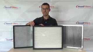 Replacement Filters for Pollution Control Units Tutorial