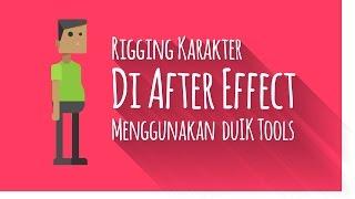 Rigging Karakter di After Effect Menggunkana DuIK Tools