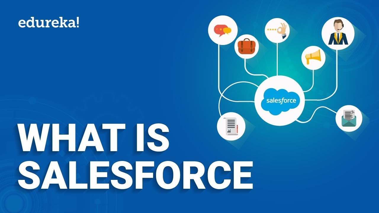 What Is Salesforce | Salesforce CRM | Salesforce Sales Cloud | Salesforce Training