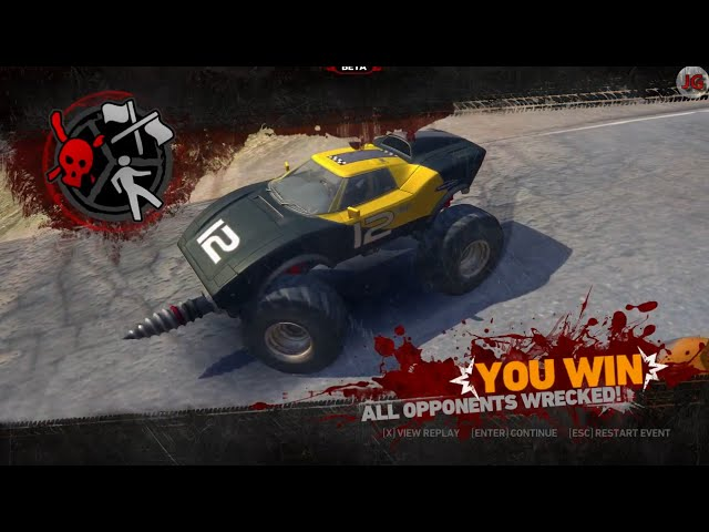 Carmageddon Reincarnation / Countryslide / The Loop / Classic Carma / The Twister Gameplay