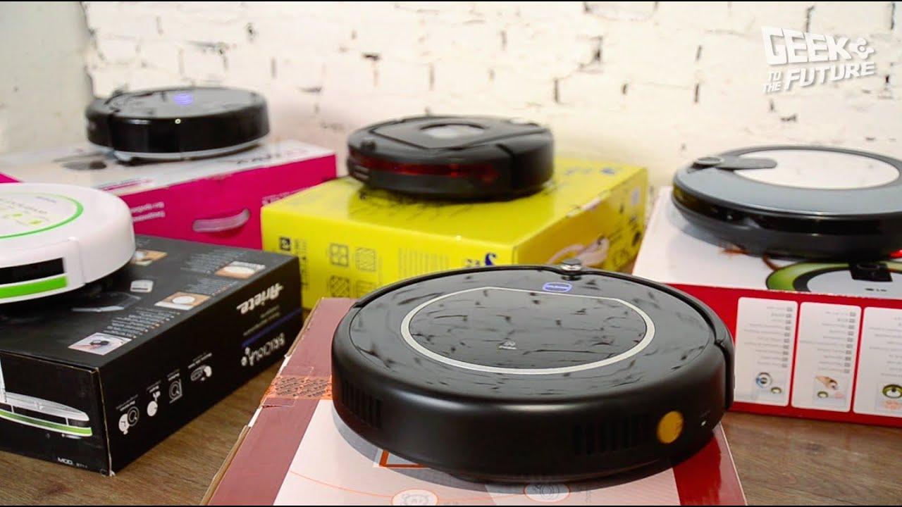 Моющий робот-пылесос - YouTube